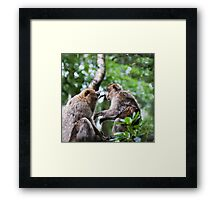 My poor Head, these Kids, No worries,I look after you Framed Print