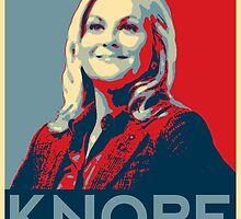 Knope Poster by slitheenplanet