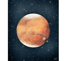 The Red Planet Photographic Print