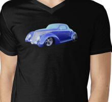 37 Coupe the Car of Tomorrow from Yesterday Mens V-Neck T-Shirt