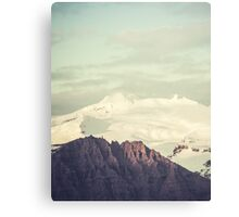 Two Mountains Canvas Print