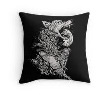 Werewolf Therewolf Throw Pillow
