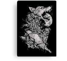 Werewolf Therewolf Canvas Print
