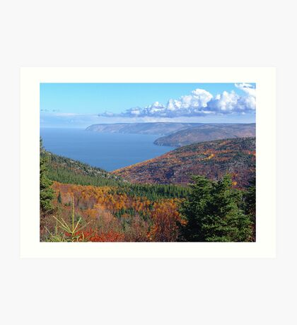 Cape Breton Island, McKenzie Mountain Art Print