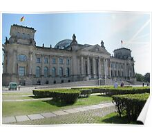 Reichstag Building Poster