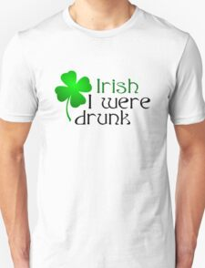Ireland Beer Drunk Whiskey Unisex T-Shirt