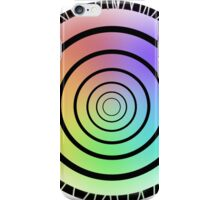 Color Circle White iPhone Case/Skin