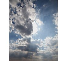 Clouds over Warwickshire Photographic Print
