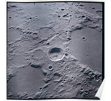 Apollo Archive 0046 Moon Craters from Orbit Poster
