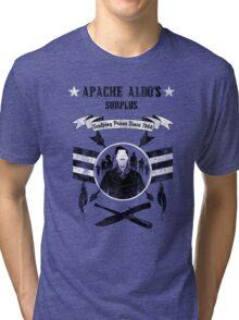 Apache Aldo's Surplus Store- Inglourious Basterds Tri-blend T-Shirt