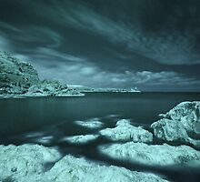 Trefalen - Infra Red Cloudstretch .( Long Exposure IR.) by Mark Haynes Photography