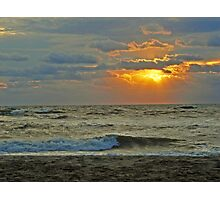 Sunrise at Hatteras  Photographic Print