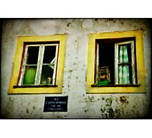 Facade Penela Portugal Photographic Print