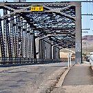 First Street Iron Bridge,  Barstow, CA. by Lorin Richter