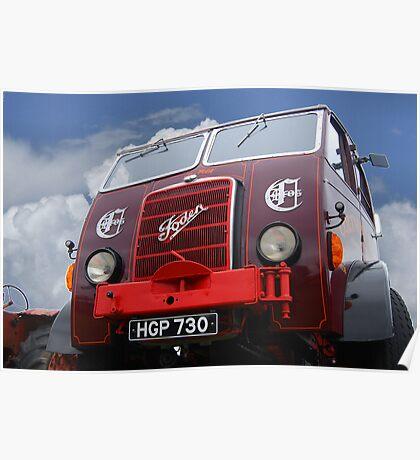 Foden Truck Poster