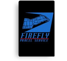 Firefly Parcel Service Canvas Print