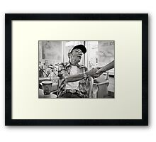 Forever young, an american dream Framed Print