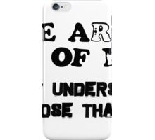 THERE ARE TEN KINDS OF PEOPLE. THOSE WHO UNDERSTAND MATH AND THOSE THAT DON'T iPhone Case/Skin