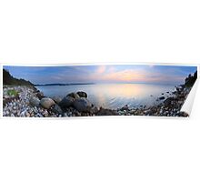 Sunset (panoramic version) Poster