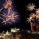 Edinburghs Festival Fireworks 2011 by Don Alexander Lumsden (Echo7)