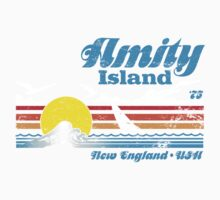 Amity Island Baby Tee