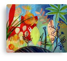 magic garden Canvas Print