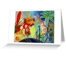 magic garden Greeting Card
