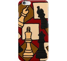 Awesome Chess Piece Art Abstract Original iPhone Case/Skin