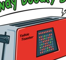 Talkie Toaster Sticker