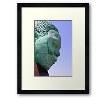 Charlie Parker Memorial, Kansas City, MO Framed Print
