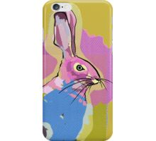 Mustard Hare iPhone Case/Skin