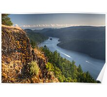 Vancouver Island View Poster