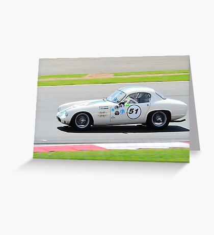 1961 Lotus Elite Greeting Card