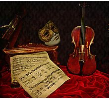 A musical night Photographic Print