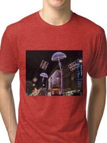 London At Christmas Tri-blend T-Shirt