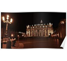 Late Night at The Vatican Poster