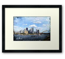 The City of Bridges Framed Print