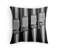 Organ pipes #1 Throw Pillow
