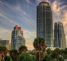 Future Today- the modern towers of South Beach by Bill Wetmore