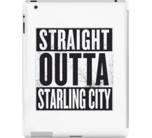 Straight outta Starling City iPad Case/Skin
