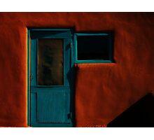 taos blue Photographic Print