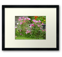 Summer has almost gone. Framed Print