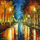 COLOR REFLECTIONS - LEONID AFREMOV by Leonid  Afremov