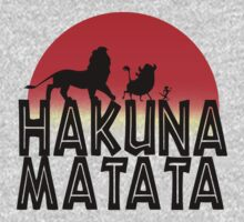 HAKUNA MATATA (day edition) One Piece - Long Sleeve