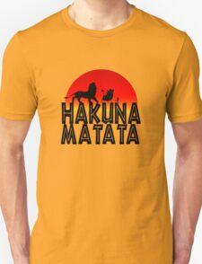 HAKUNA MATATA (day edition) Unisex T-Shirt