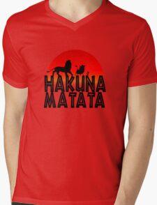 HAKUNA MATATA (day edition) Mens V-Neck T-Shirt