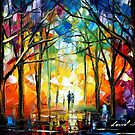 EVENING - LEONID AFREMOV by Leonid  Afremov