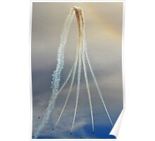 Red Arrows - Flight Path Poster
