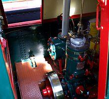 Bolinder Diesel Engine by Jack Cox