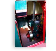 Bolinder Diesel Engine Canvas Print